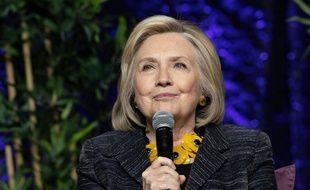L'ancienne Secrétaire d'État des États-Unis, Hillary Clinton à Toronto (Canada).