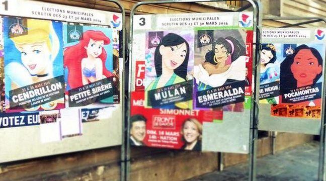 Les princesses Disney lorgnent aussi la Mairie de Paris