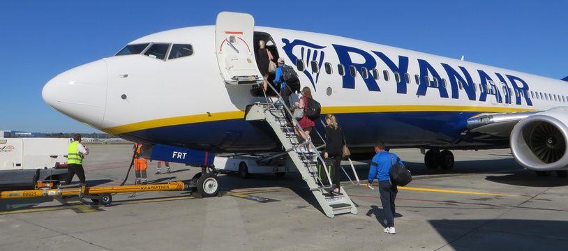 La compagnie low-cost Ryanair est implantée à Toulouse depuis 2016.