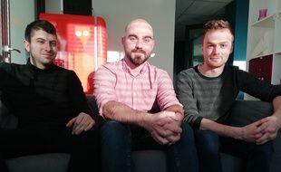 Ben Kaltenbaeck, Lucas Odion et Roland Lamidieu ont fondé le jeu Metropolis, Monopoly grandeur nature.