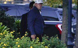 Présidentielle américaine : Donald Trump de retour de sa partie de golf