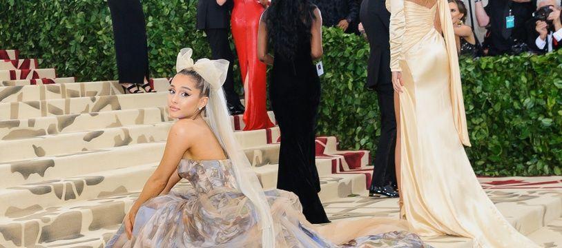 La chanteuse Ariana Grande au Met Gala 2019