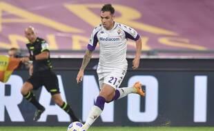 Pol Lirola, le latéral espagnol de la Fiorentina en passe de signer avec l'OM.