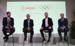 Le CIO a signé un partenariat avec Airbnb.