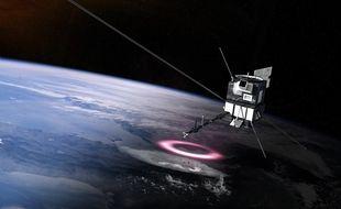 Le satellite Taranis devait aider à percer le mystère des orages.