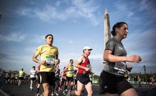 Illustration / Marathon de Paris