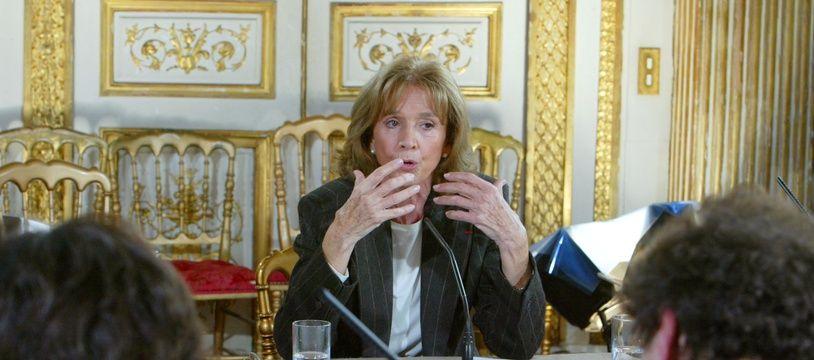 Gisèle Halimi le 14 novembre 2003.