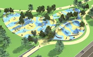 Le futur skateparc de La Faute-sur-mer serait l'un des plus grands d'Europe.