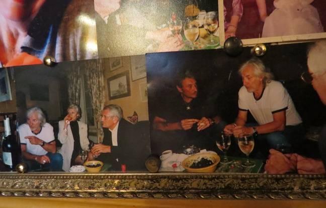 Les photos de Maryvonne, avec Huges Aufray et Johnny Hallyday