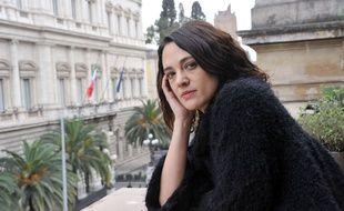 Asia Argento à Rome, en mars 2017.