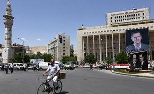 La ville de Damas le 27 mai 2014