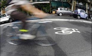 Paris ambitionne d'arriver en 2020 à ce que la part modale du vélo dans les déplacements atteignent les 20%.