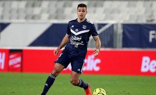 Hatem Ben Arfa, l'attaquant des Girondins de Bordeaux.
