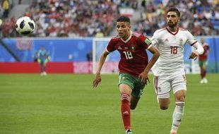 Amine Harit, élu meilleur joueur du Maroc-Iran de vendredi dernier.