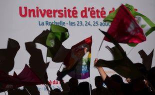Université d'été du PS à La Rochelle en août 2013.