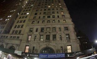 Vue de l'immeuble situé au 71 Broadway, à Manhattan, où Dominique Strauss-Kahn vit en résidence surveiléle, le 20 mai 2011.