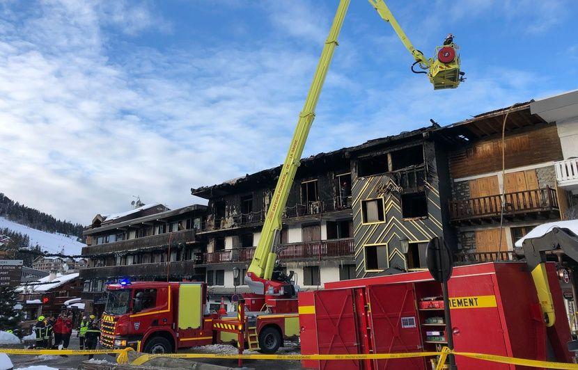 Incendie mortel à Courchevel: Un homme interpellé et placé en garde à vue dans le cadre de l'enquête