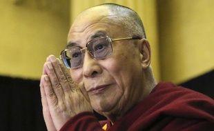 Le dalaï-lama, le 27 avril 2012, à Ottawa (Canada).
