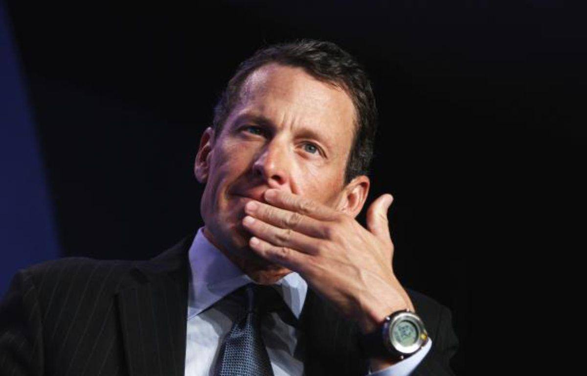 L'ancien cycliste Lance Armstrong lors d'une conférence à New-York, le 22 septembre 2010. – L.Jackson/REUTERS