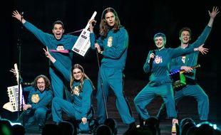 Daði og Gagnamagnið, candidats de l'Islande à l'Eurovision 2020.