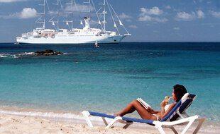 Une vacancière au Club Med.