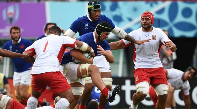 France - Tonga / Coupe du monde de rugby  Une victoire à l'arrache et une qualif en quarts... Revivez le match