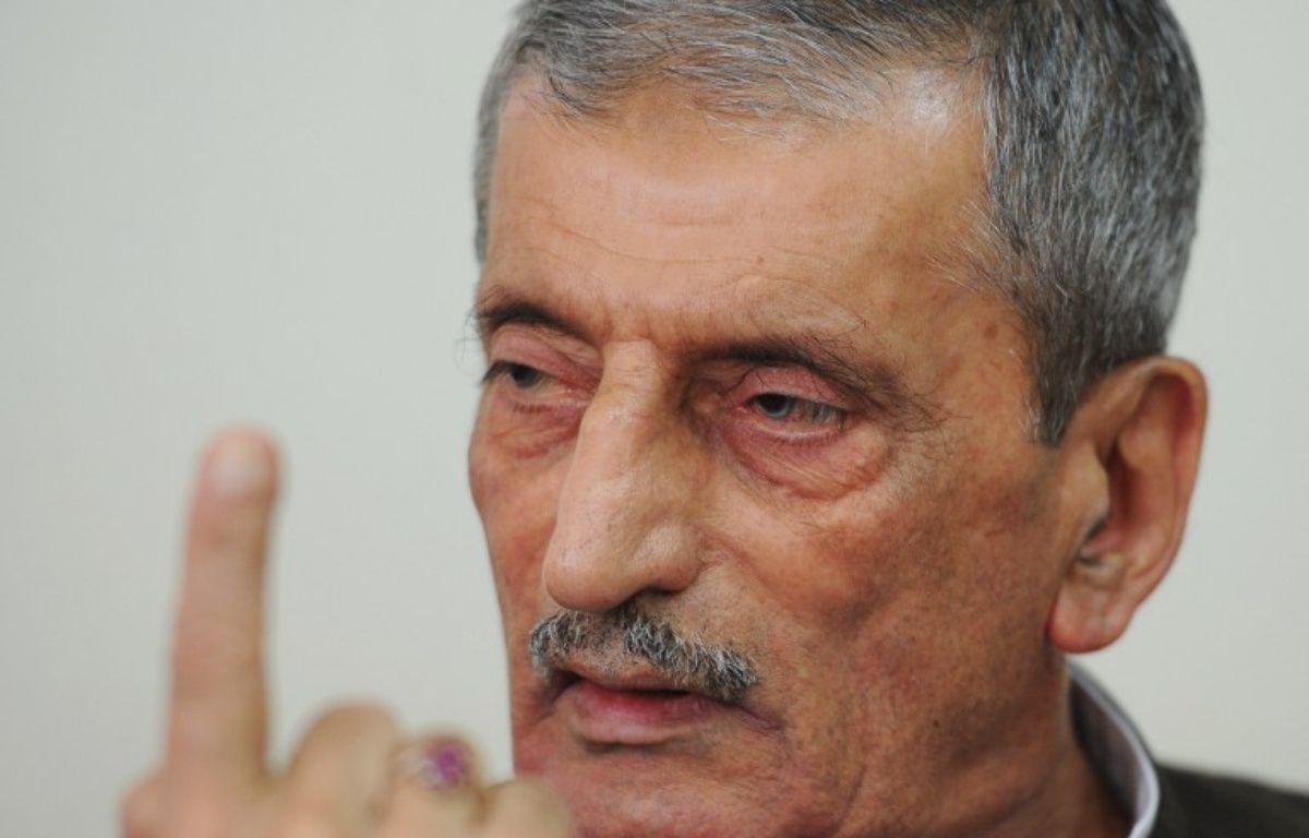 Ghulam Ahmed Bilour, l'ex-ministre pakistanais, le 25 septembre 2012. – AFP
