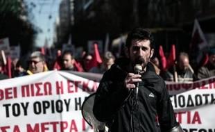 La Grèce était de nouveau frappée mercredi par une grève générale à l'appel des syndicats pour protester contre le plan d'austérité exigé par ses créditeurs de l'UE et du FMI.