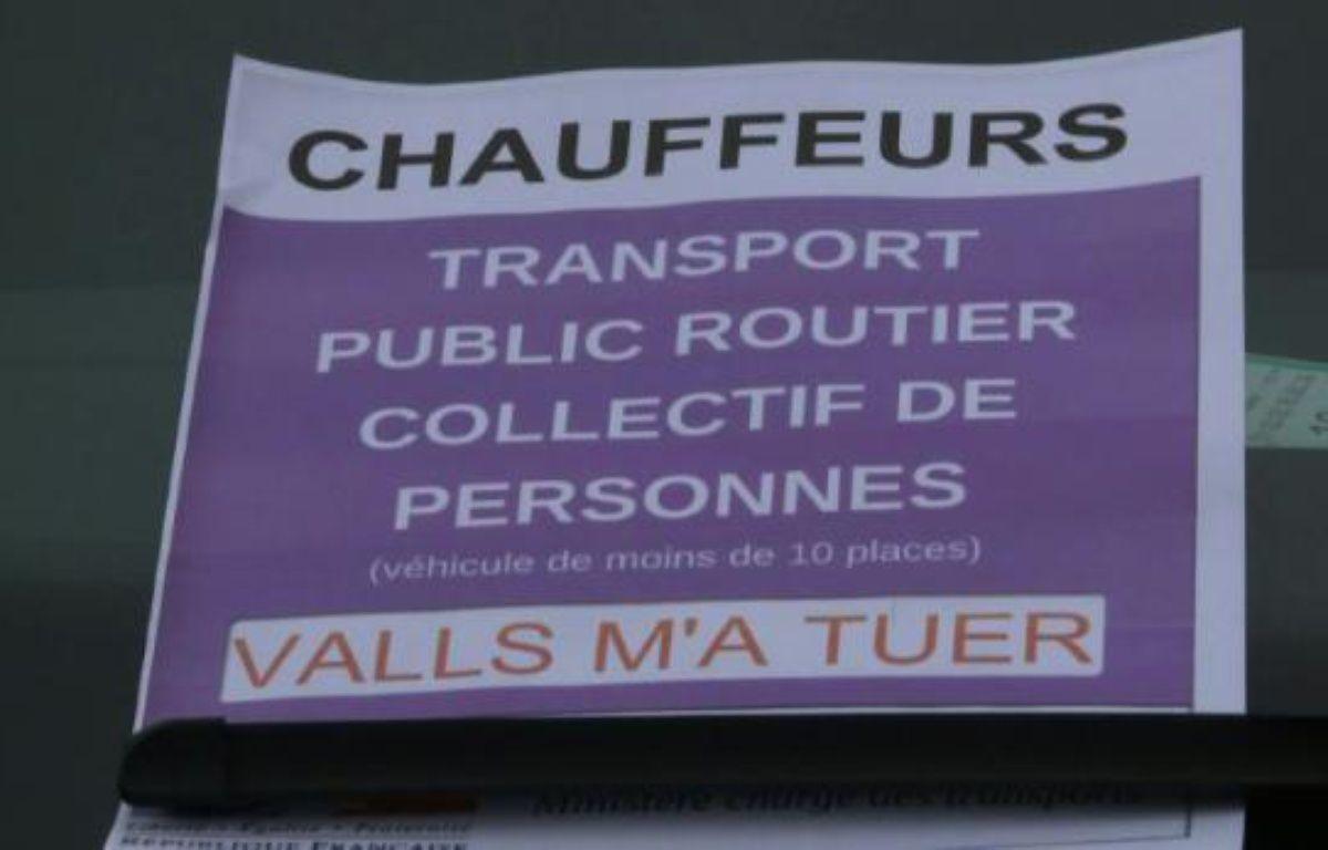 Les VTC toujours mobilisés en région parisienne – Agnès Coudurier-Curveur, Fabien Novial, fd AFPTV