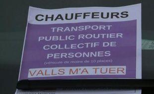 Les VTC toujours mobilisés en région parisienne