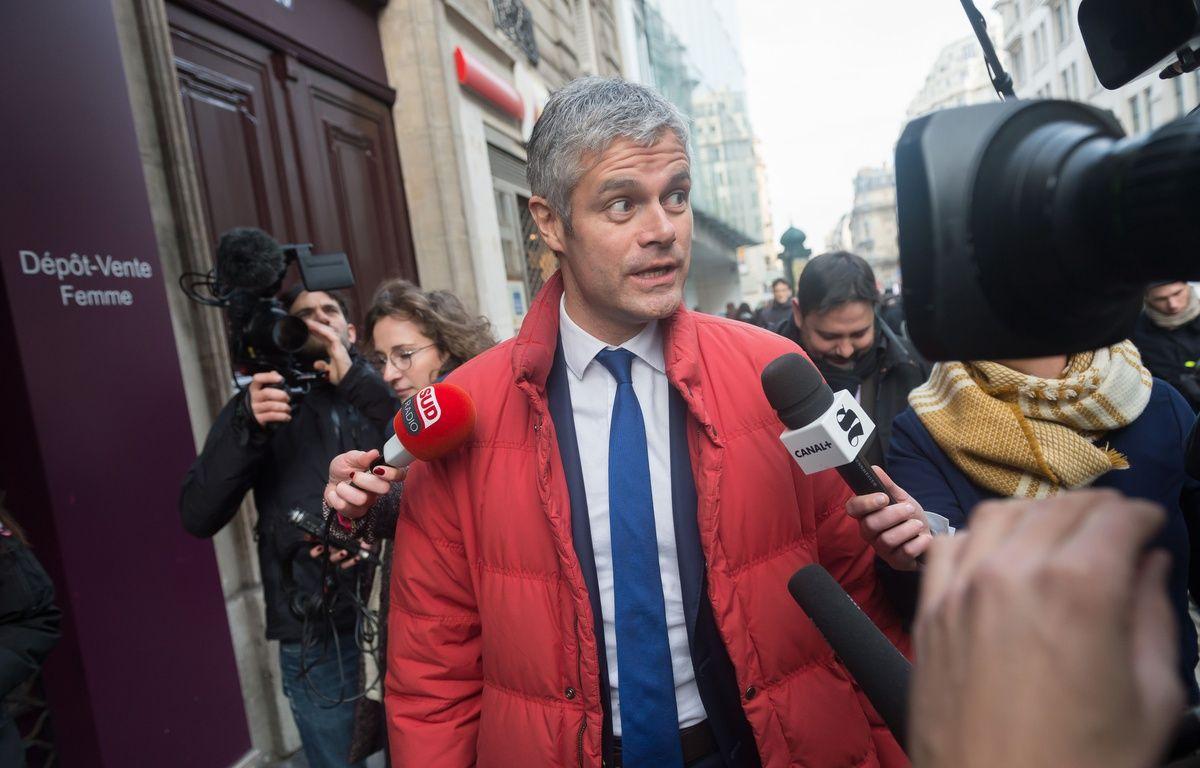 Laurent Wauquiez, le 14 décembre 2015 à Paris – WITT/SIPA