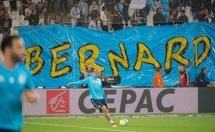 De nombreuses banderoles de soutien ont fleuri au Vélodrome, lors d'OM-TFC