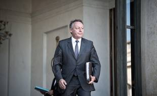 Thierry Braillard, ici lors de la sortie du Conseil des ministres à l'Elysée, en octobre 2016. Nicolas Messyasz