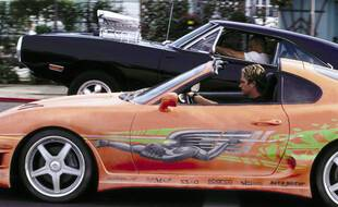 L'acteur Paul Walker dans «Fast and Furious» au volant de sa 1994 Toyota Supra