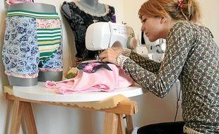 Fanny a créé il y a cinq ans sa marque Sauciflar et Calendos à Rennes.