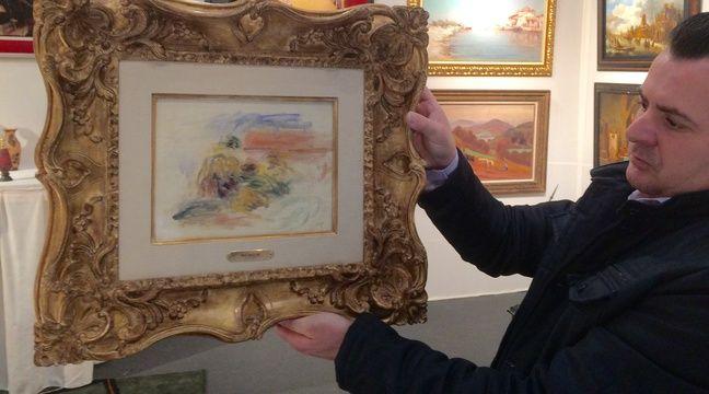 Bordeaux un tableau de renoir la vente au salon des for Salon des antiquaires bordeaux