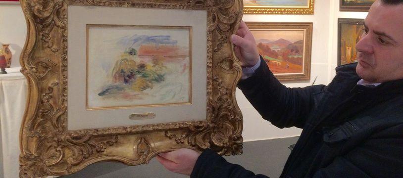 «Paysage du Midi» est une huile sur toile peinte par Renoir à la fin de sa vie.