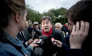Jean-Luc Mélenchon, le 2 novembre 2014, à Paris.