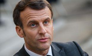 """Emmanuel Macron : """"Il y aura des tentatives d'ingérence"""" de la Turquie dans l'élection présidentielle (Illustration)"""