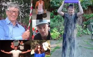 Spielberg, Gates, Zuckerberg, Timerberlake, etc... Ils ont relevé le défi «Ice Bucket Challenge»