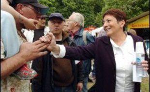 """Arlette Laguiller a déclaré que 2007 marquerait sa """"dernière candidature"""" pour l'élection présidentielle, dimanche, lors d'une conférence de presse à Presles (Val d'Oise), en marge de la fête annuelle de Lutte Ouvrière."""