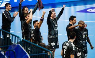 Les handballeurs sont qualifiés pour le Final 4 de la Ligue des Champions (illustration).