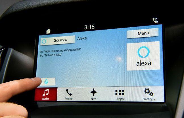Ford a profité du salon CES de Las Vegas pour présenter ses véhicules embarquant Alexa d'Amazon.