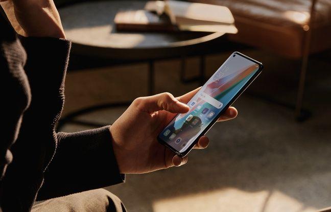 L'écran de 6,7'' de l'Oppo Find X III Pro est 120 Hz adaptatif.