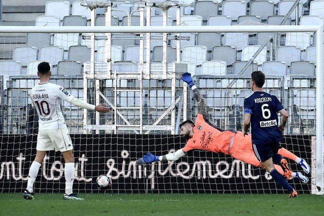 Les Girondins se sont inclinés à la dernière minute face à Metz.