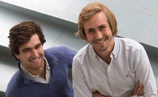 Les fondateurs de Ouistock, Neville Ricourt et Simon Ryckembusch.