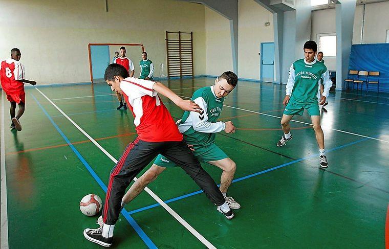 Une vingtaine d'élèves pourront intégrer la section foot en septembre.