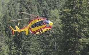 Illmustration. Un helicoptere de la Sécurite Civile CYRIL VILLEMAIN / 20 MINUTES