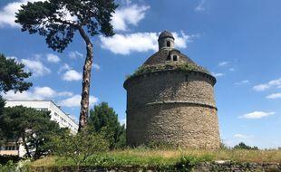 Le pigeonnier des Dervallières à Nantes, le 24 juin 2021