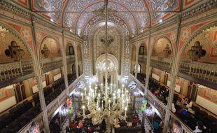 Une synagogue américaine.
